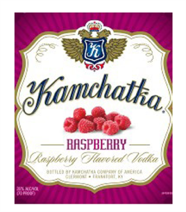Kamchatka Vodka Raspberry